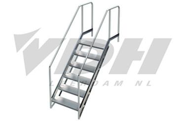 Vdh movable lazy pool steps km vdh leerdam for Luie trap afmetingen