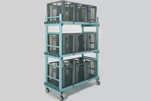 REA Kunststof materialenwagen