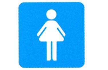Symboolbord dames