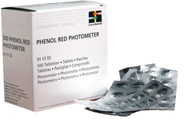 Phenol Red tabletten