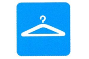 Symboolbord garderobe