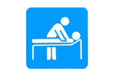 Symboolbord massage