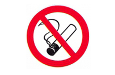Symboolbord niet roken