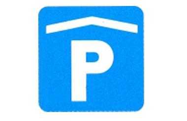 Symboolbord parkeergarage