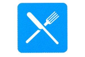 Symboolbord restaurant