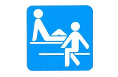 Symboolbord sauna