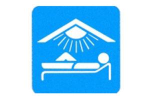 Symboolbord solarium