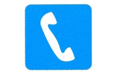 Symboolbord telefoon