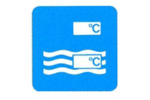 Symboolbord temperatuur