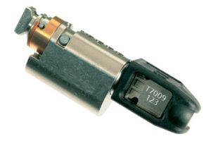 Safe-O-Mat 800, cylinder met standaard sleutel
