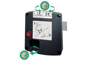 Safe-O-Mat 800 pandslot, standaard sleutel