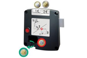Safe-O-Mat kassierslot multi-use, sleutel met kogelhouder