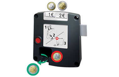 Safe-O-Mat kassierslot multi-use, standaard sleutel