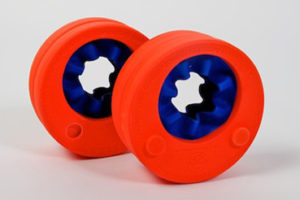 Swimming disks